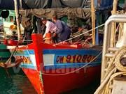Thailand's marine police capture Vietnamese fishing boats