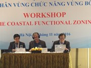 Coastal functional zoning helps manage natural resources: workshop