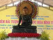 Jade Buddha statue arrives in last Vietnamese destination