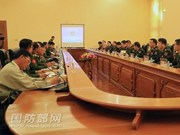 Myanmar, China discuss border issue