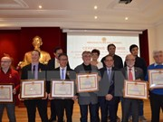 French organisations, individuals honoured by Vietnamese ministry