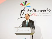 President meets with leaders of Francophone nations