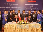 Vietnam, Laos boost cooperation in inspection work