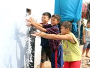 Ben Tre: Water station inaugurated in coastal district