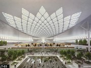 Long Thanh airport terminal designs showcased
