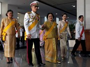 Thailand's Crown Prince acknowledged as new king