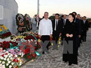 NA Chairwoman pays tribute to Cuba revolutionary leader