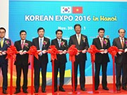 Korea Expo underway in Hanoi