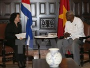 NA Chairwoman stresses solidarity with Cuba