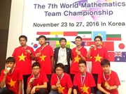 Vietnamese kids win gold at maths contest