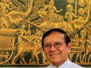 Cambodian King pardons opposition leader