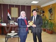 Vietnam, Egypt radio stations foster broadcasting cooperation