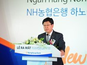 RoK's Nonghyup Bank opens branch in Vietnam