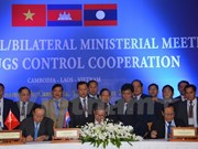 Vietnam, Laos, Cambodia boost partnership in fighting drug crimes
