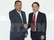 Vietnam, Laos news agencies agree on stronger coordination