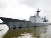 RoK's naval ships enter Cam Ranh port, visiting Vietnam