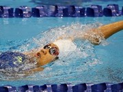 Vietnam tops at Southeast Asian Swimming championship