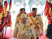 Sultan Muhammad V becomes Malaysia's new king