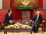 Vietnam considers Japan top partner: Party chief