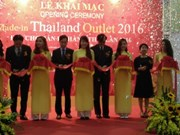 Made-in-Thailand outlet fair opens in Hanoi