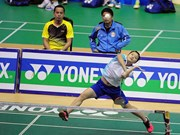 Vietnamese players advance in Nepal badminton tourney