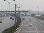 Trial starts on one expressway toll station