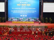 Int'l conference on Vietnamese studies wraps up