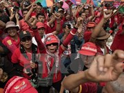 Thailand: 19 red-shirt leaders arraigned