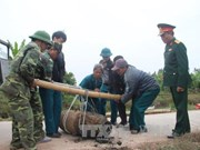 Bomb weighing 450kg found in Hung Yen