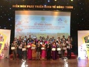 Outstanding farm products, firms honoured