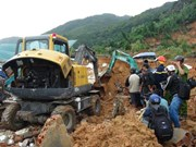Four dead, missing in mountain landslide in Khanh Hoa