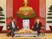 Party chief hails visit by Cambodian Prime Minister