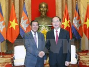 Vietnam consistently supports Cambodia, says President