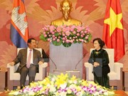 Top legislator affirms support for stronger ties with Cambodia