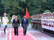 Cambodian media highlights PM Hun Sen's Vietnam visit