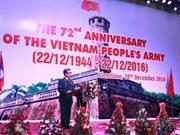 Establishment of Vietnam People's Army celebrated in Laos