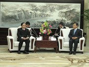 Vietnam Fatherland Front officials visit China