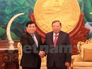 Minister hopes for stronger trade with Laos