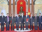 President presents appointment decisions to new ambassadors