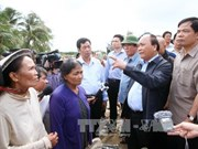 PM visits flood affected residents