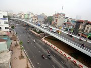 O Dong Mac – Nguyen Khoai flyover opens to traffic