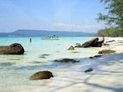 Vietnam attends fifth sea festival in Cambodia