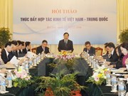 Workshop aims to fuel Vietnam-China economic cooperation