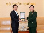 Vietnamese minister hosts Korean defence officer