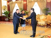 Vietnamese Ambassador to Laos presents credentials
