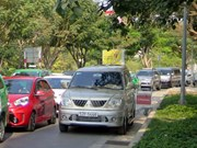 HCM City roads clogged in run up to Tet festival