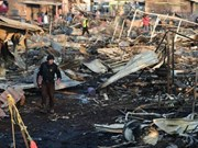 Philippines: explosion injures at least 33