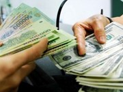 Reference exchange rate drops 1 VND on year's first working day