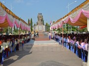 Upgraded Vietnam-Cambodia friendship monument inaugurated