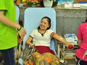 Sunday blood donation events held in 25 provinces, cities